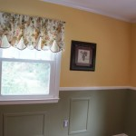 Crown molding, chair rail & wall panels