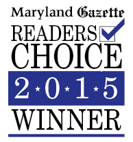 The Maryland Gazette Readers Choice 2015 Winner